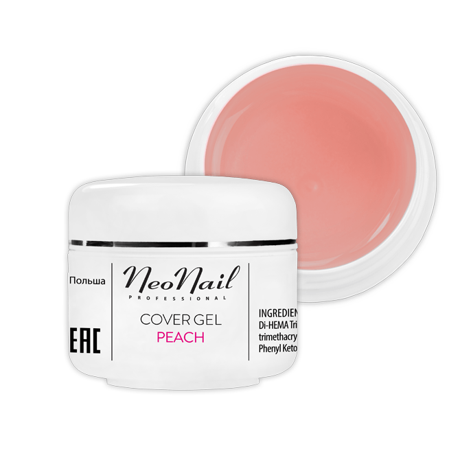 Żel Cover Peach 5ml do manicure