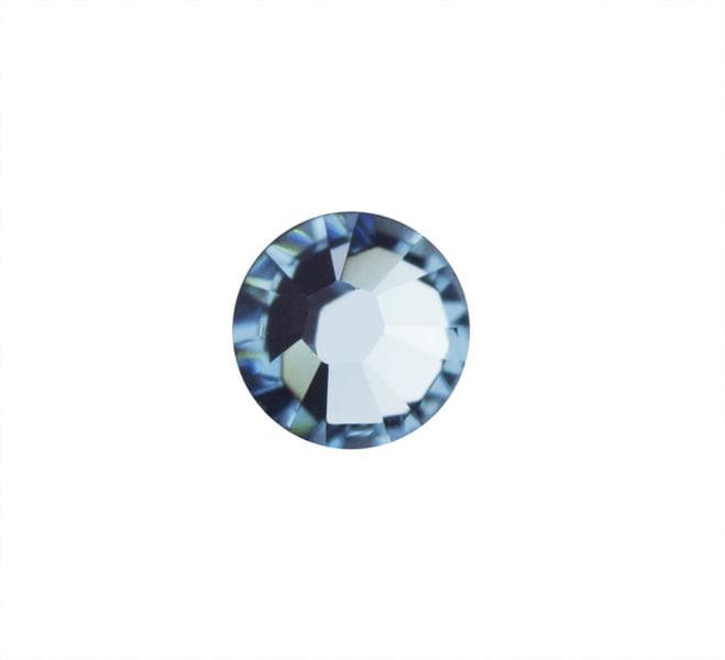 CYRKONIE SWAROVSKI SS10 - Light Sapphire 211 - 50szt. do zdobień na paznokciach