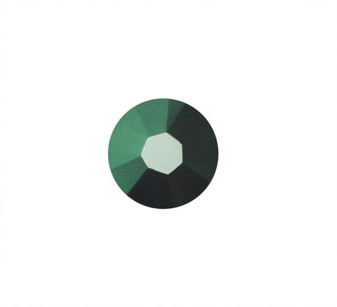 CYRKONIE SWAROVSKI SS10 - Emerald 205 do zdobienia paznokci