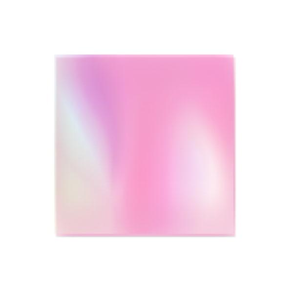Folia do Efektu Szkła - Różowa do manicure