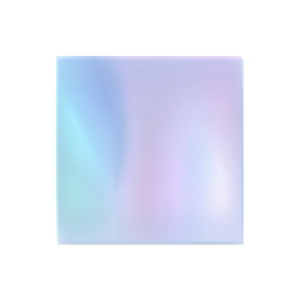 Folia do Efektu Szkła - Niebieska do stylizacji paznokci