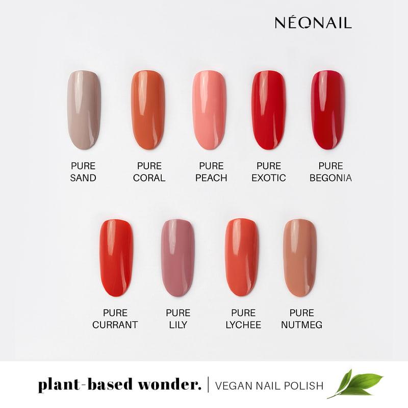 Jesienne kolory klasycznych lakierów do paznokci z kolekcji plant-based wonder