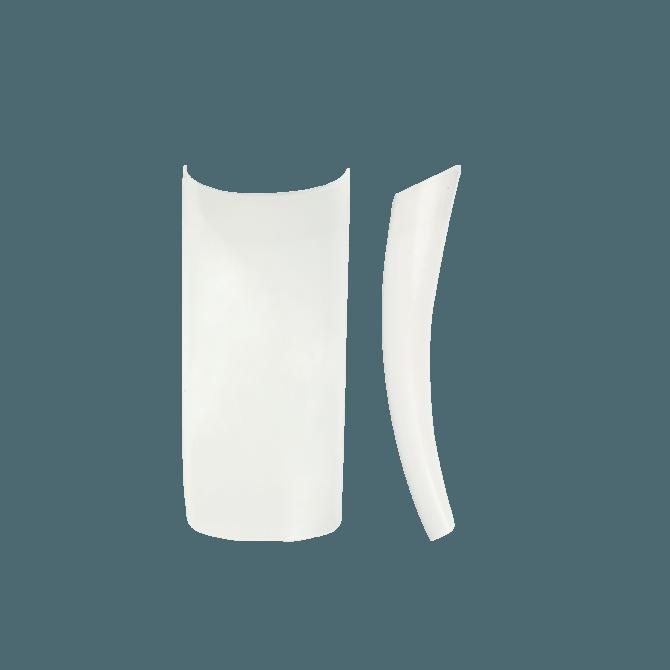Wysokiej jakości Tipsy naturalne 60 szt. krótką kieszonką NeoNail nr 1