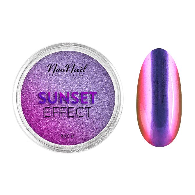 Puder Sunset Effect 04 do stylizacji na paznokciach