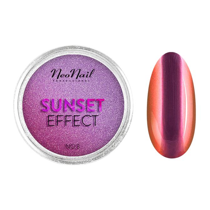 Puder Sunset Effect 03 do stylizacji paznokci