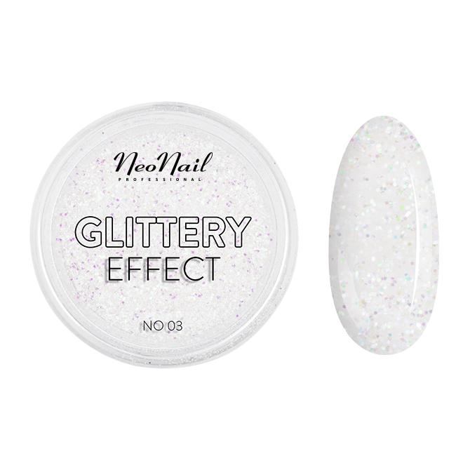 pyłek do stylizacji paznokci Glittery Effect No. 03