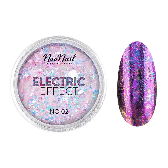 Pyłek Electric Effect 02 do stylizacji paznokci metodą hybrydową