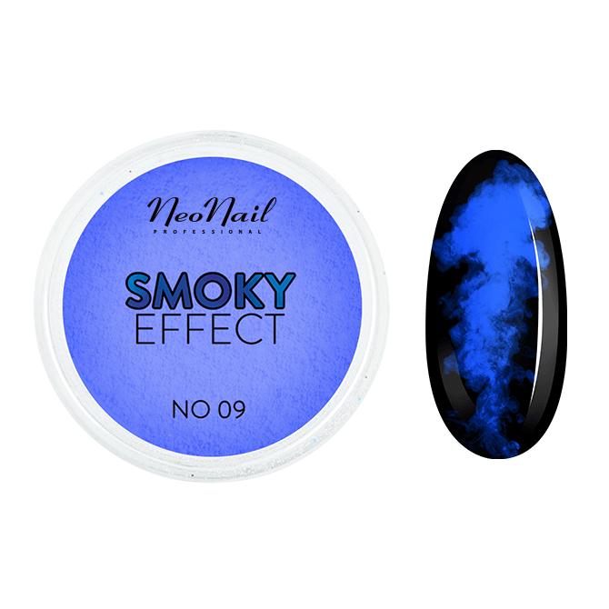 Pyłek Smoky Effect do efektu dymu na paznokciach.
