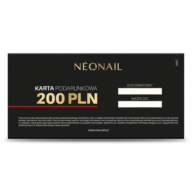 Karta podarunkowa 200 zł NeoNail