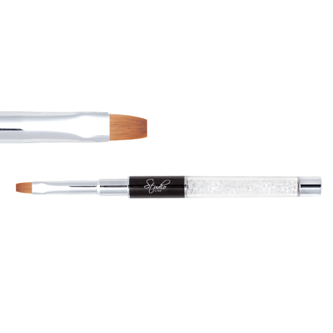 Pędzelek do żelu - Flat 04 / Gel Brush Flat 04 6435