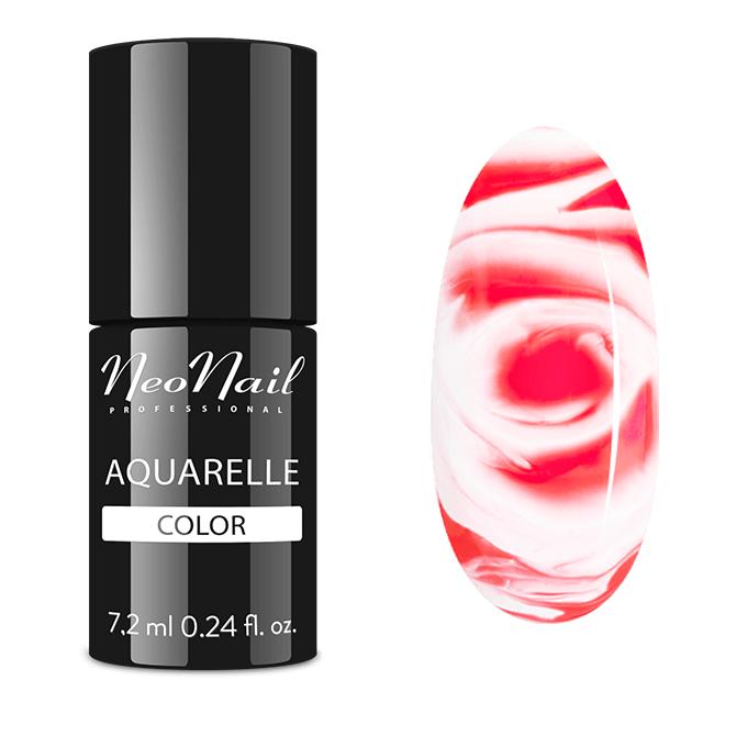 Lakier Hybrydowy 7,2 ml - Ruby Aquarelle - pazur