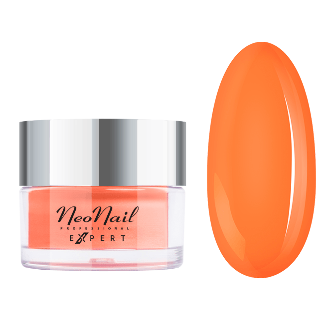 Titanium Dip Powder NN EXPERT  20 g - Neon Orange