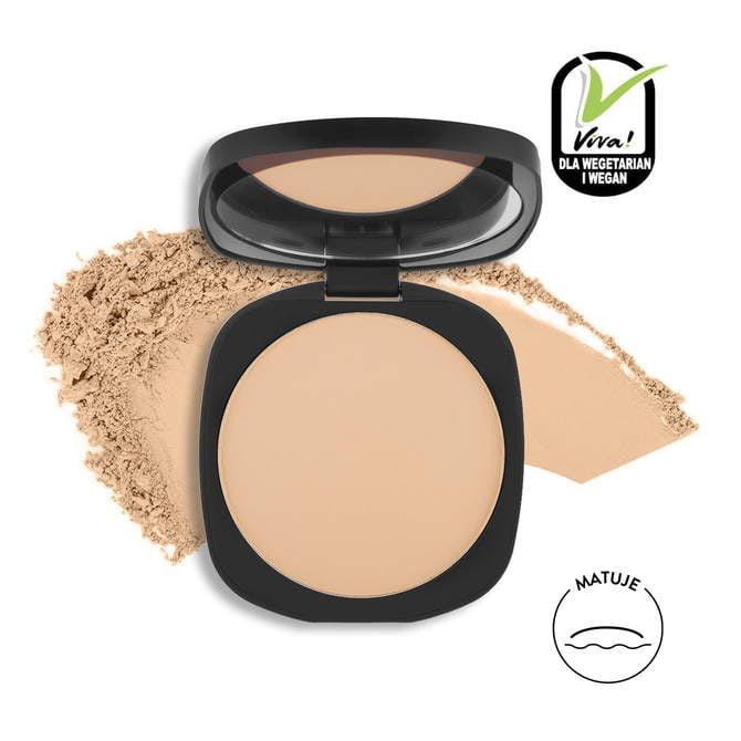 02 Puder prasowany Pro Skin Matte Pressed Powder