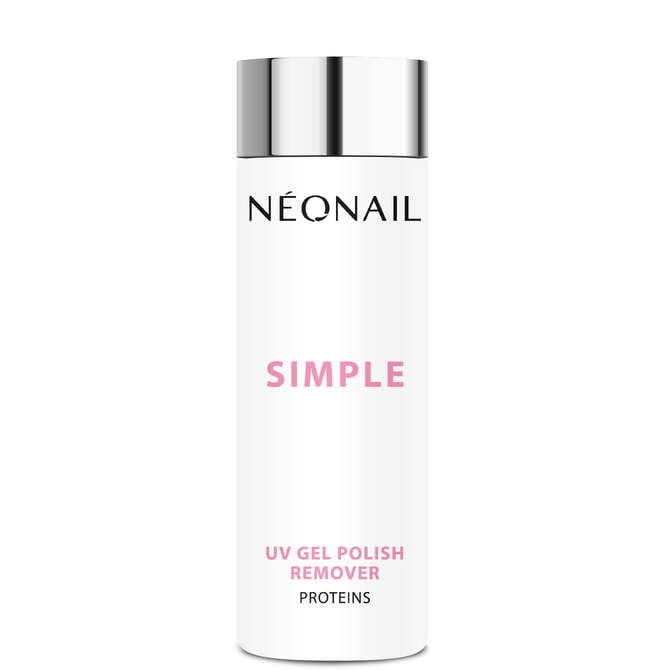 Aceton do lakierów Simple 200 ml SIMPLE UV GEL POLISH REMOVER PROTEINS