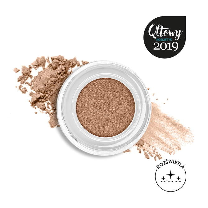 Cienie w kremie Pro Cream Glitter 17 Sparkly Cinnamon NM0254