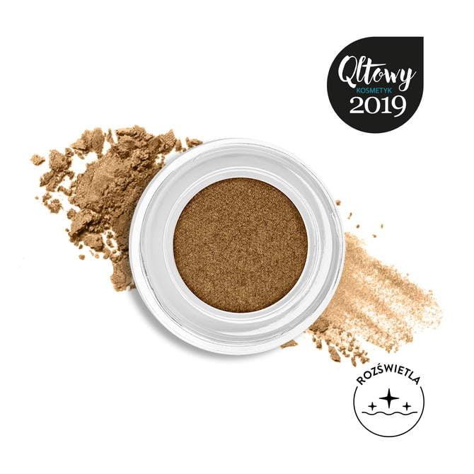 Cienie w kremie Pro Cream Glitter 18 Sparkly Brown NM0255