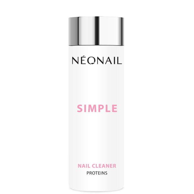 Odtłuszczacz do paznokci 200 ml SIMPLE Nail Cleaner Proteins