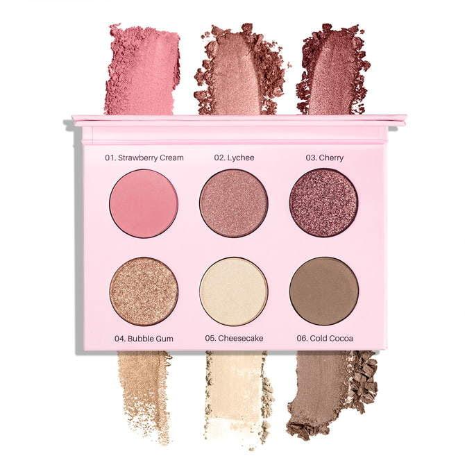 Paleta cieni prasowanych Rose Eyeshadow Palette Rose