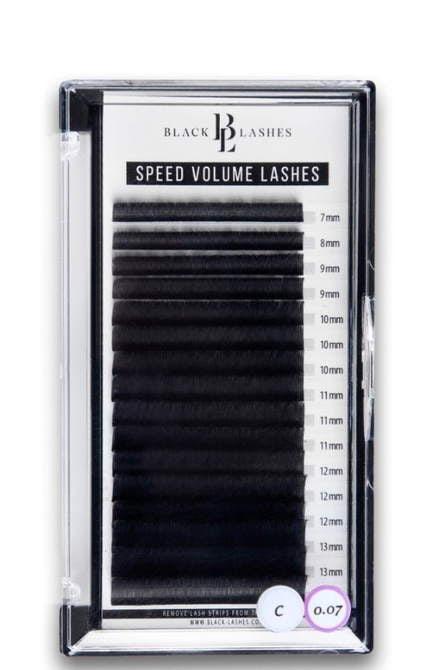 Speed Volume Lashes C 0,07 mm x 7-14 mm- 16 pasków