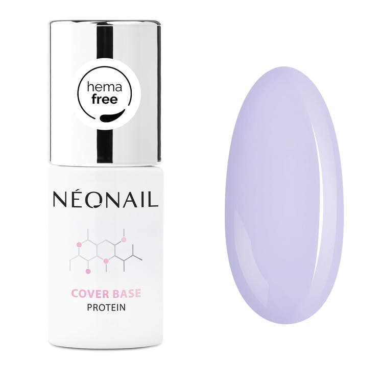 Baza hybrydowa Cover Base Protein Pastel Lilac 7,2 ml