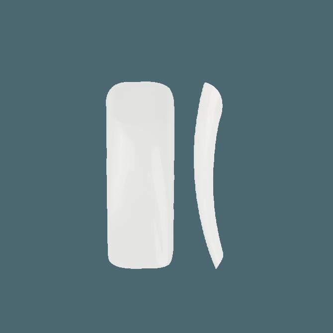 Wysokiej jakości Tipsy naturalne 60 szt. z długa kieszonką NeoNail nr 6