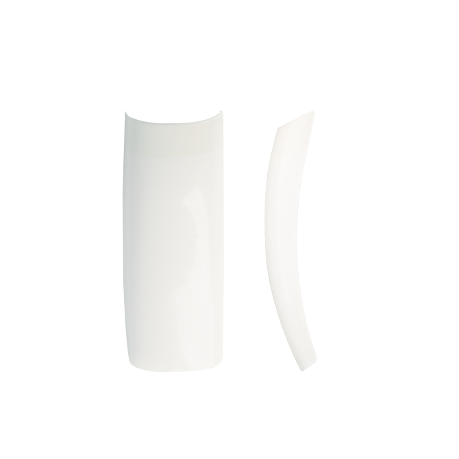 Wysokiej jakości Tipsy naturalne 60 szt. z krótką kieszonką NeoNail nr 4