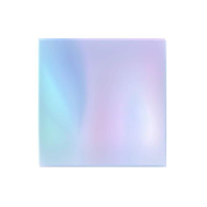 Folia Do Efektu Szkła Niebieska Neonail