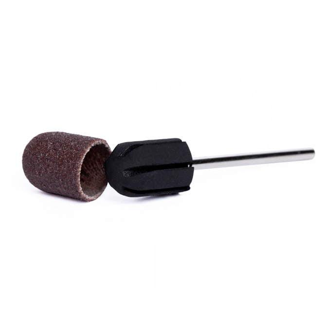 Trzpień 10 mm - nośnik gumowy do pedicure