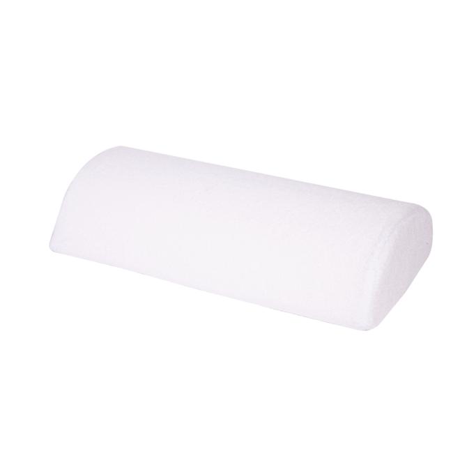 Poduszka pod rękę frotte - biała do manicure