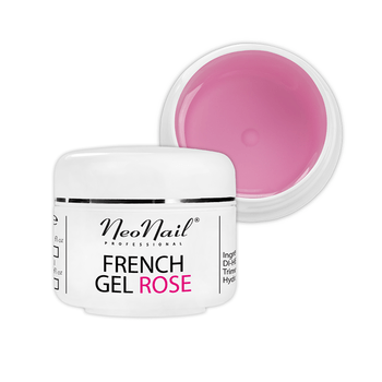 Żel French różowy 15 ml do manicure