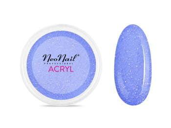 Proszek akrylowy 5 g - kobaltowy z drobinkami do manicure