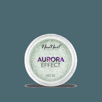 pyłek do stylizacji paznokci Puder Aurora Effect 02