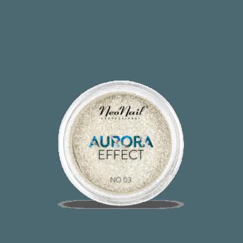 pyłek do stylizacji paznokci Puder Aurora Effect 03