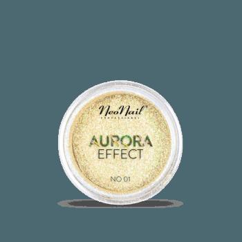 pyłek do stylizacji paznokci Puder Aurora Effect 01