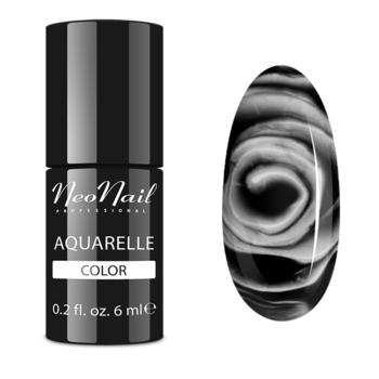 Lakier Hybrydowy do stylizacji paznokci Black Aquarelle