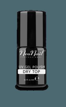 Lakier Hybrydowy UV 6 ml - DRY TOP (bez przemywania)