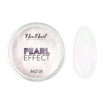 Pyłek do zdobienia paznokci hybrydowych Pearl Effect No. 01