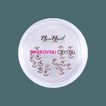 Cyrkonie Swarovski SS9 20szt. - Crystal 001 Silver Shadow neonail