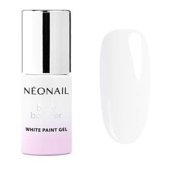 Paint UV/LED Gel 6,5 ml - Baby Boomer White Paint Gel