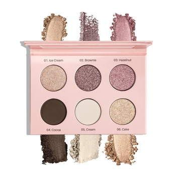Paleta cieni prasowanych Eyeshadow Palette Nude