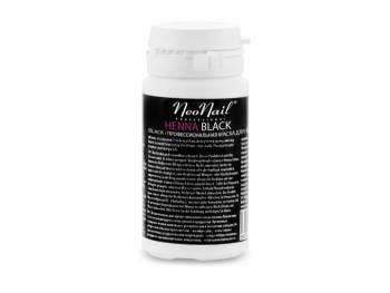 Henna NeoNail w proszku - 20 g czarna