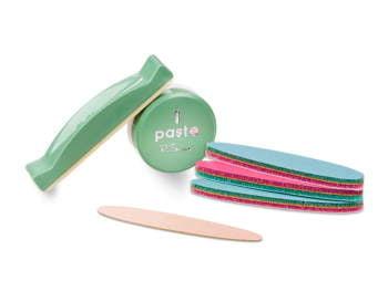 Manicure Japoński - zestaw zielony do paznokci