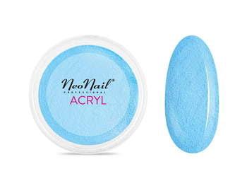 Proszek akrylowy 5 g - niebieski do manicure