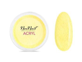 Proszek akrylowy 5 g - pastelowa żółć do manicure