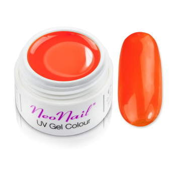 Żel kolorowy basic 5 ml 3689 Glass - Queen Orange do manicure