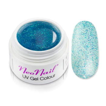Żel kolorowy basic 5 m 3673 Mistic Glow-Sequined Turquoise do manicure