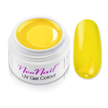 Żel kolorowy basic 5 ml 3688 Glass - Candy Yellow do manicure