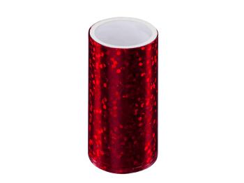 czerwona Folia transferowa / hologramowa do manicure