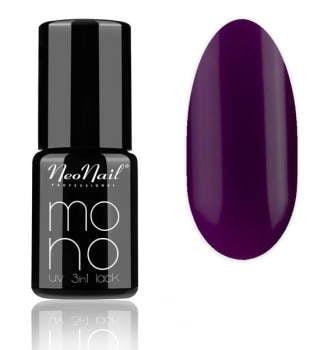 lakier hybrydowy do paznokci Mono UV 3 in1 lack Purple Decade