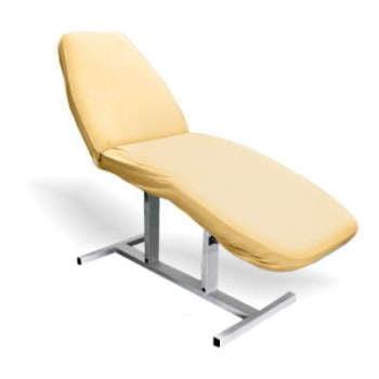 Pokrowiec frotte na fotel kosmetyczny - Pomarańczowy do gabinetów